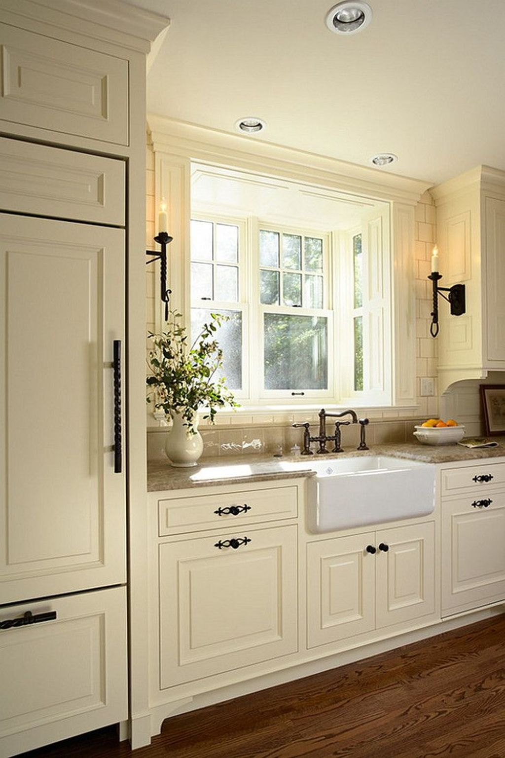 Nice Rustic Farmhouse Kitchen Cabinets Design Ideas 27