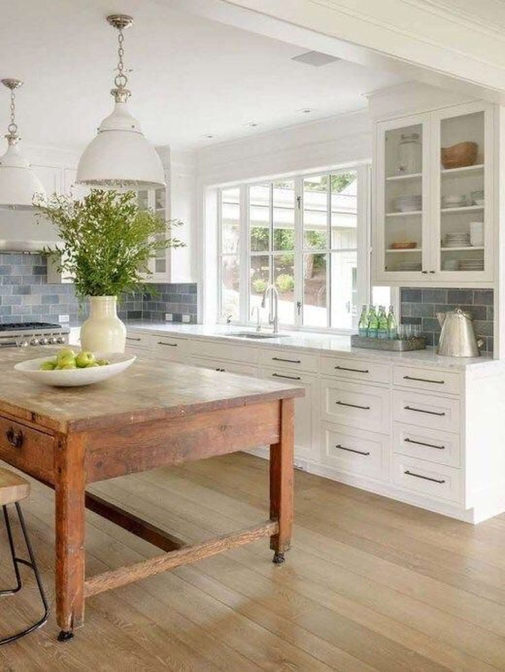 Nice Rustic Farmhouse Kitchen Cabinets Design Ideas 28