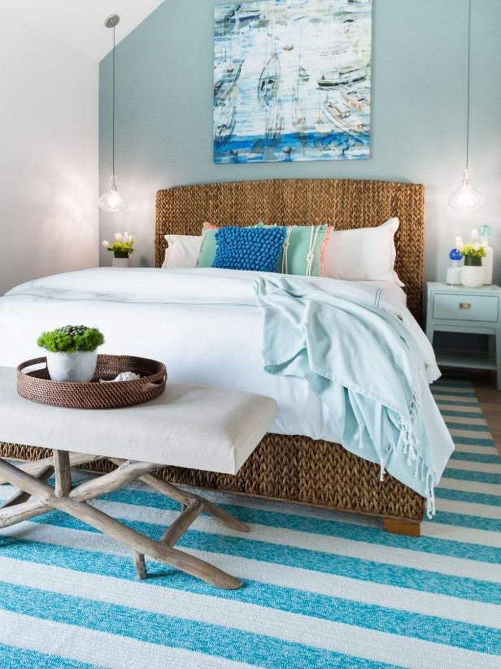 The Best Lake House Bedroom Design And Decor Ideas 20
