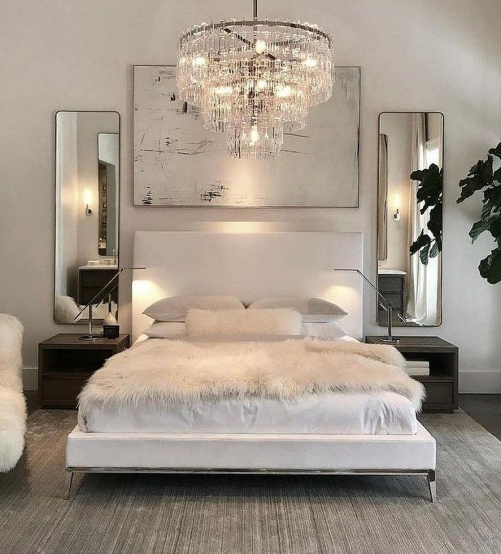 The Best White Master Bedroom Design And Decoration Ideas 03