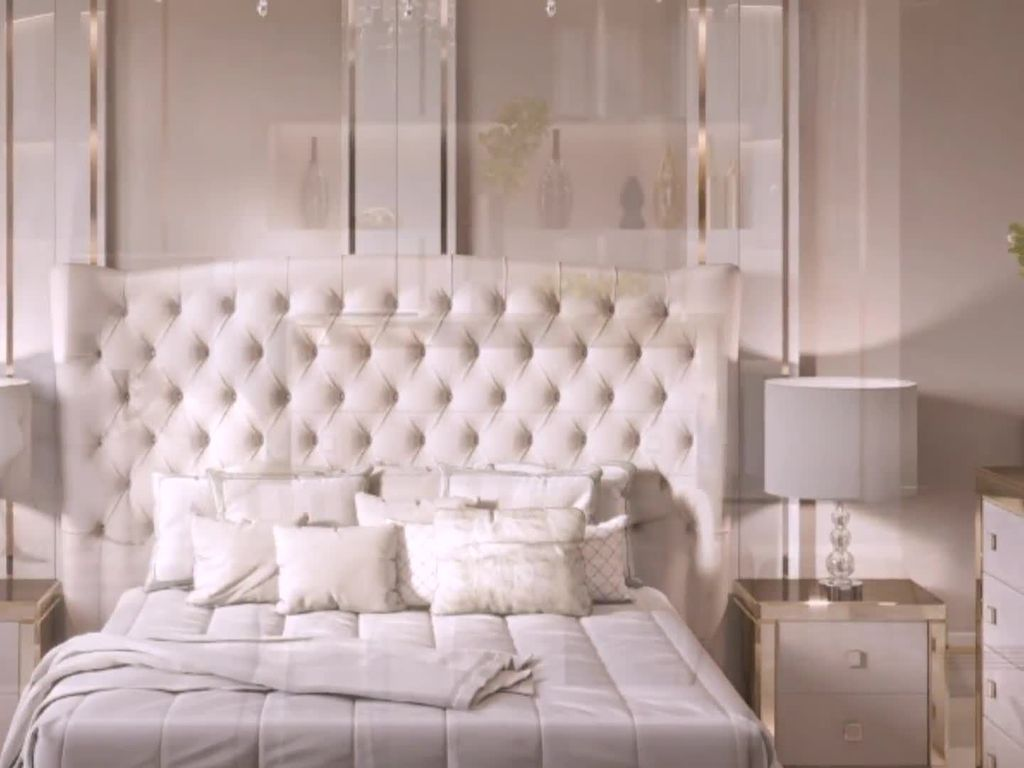 The Best White Master Bedroom Design And Decoration Ideas 09