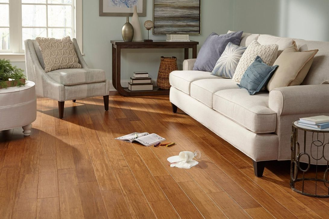 Amazing Bamboo Flooring Ideas For Living Room 05