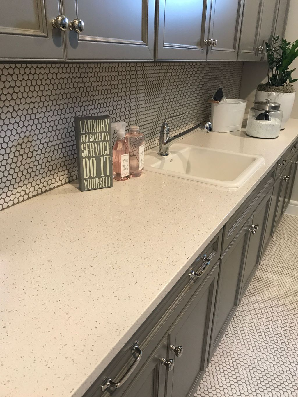 Beautiful Kitchen Design Ideas With Porcelain Slab Countertop 05