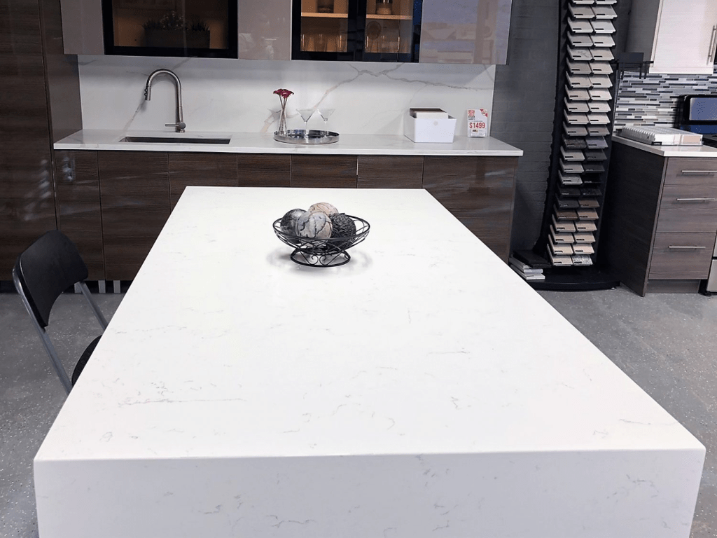 Beautiful Kitchen Design Ideas With Porcelain Slab Countertop 24