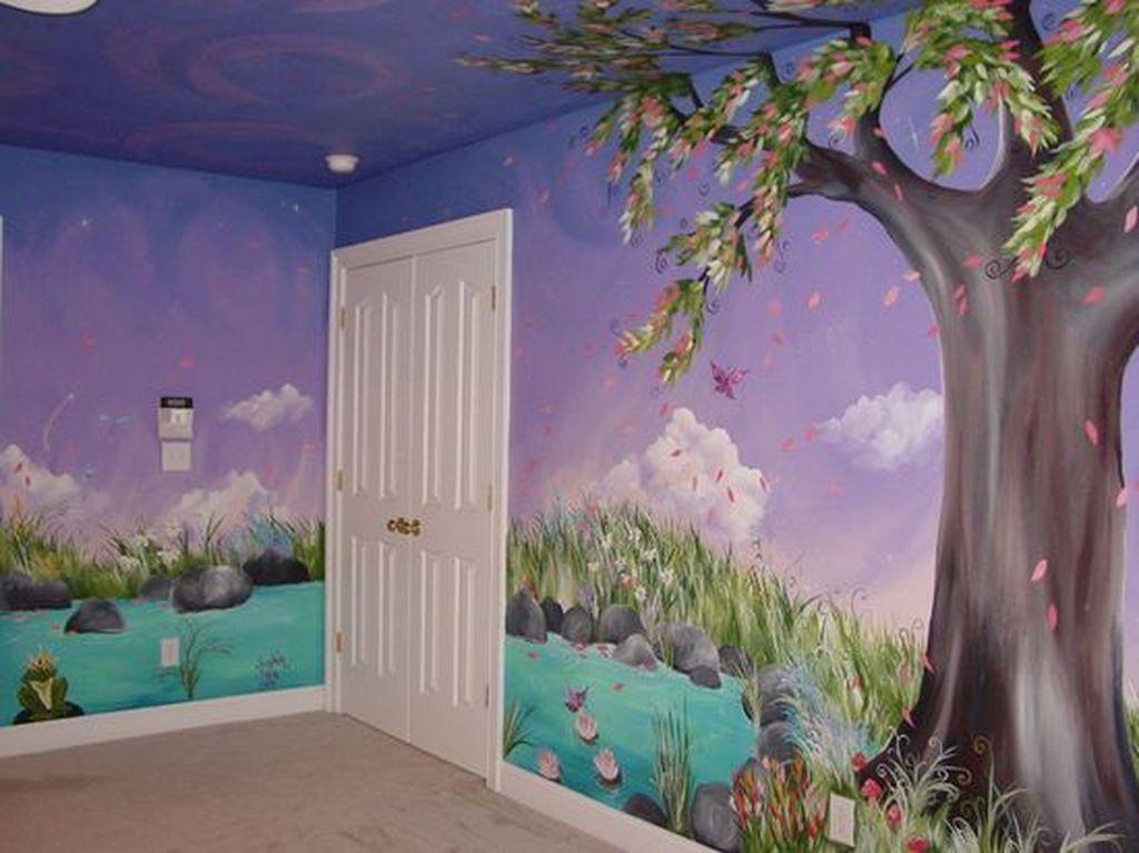 Fabulous Sky Bedroom Theme Decoration Ideas 24