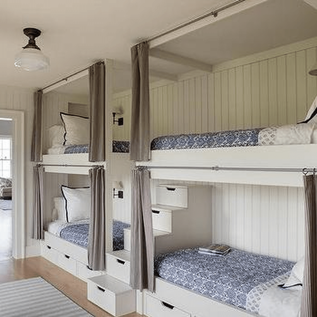 Fascinating Bunk Beds Design Ideas For Small Room 14