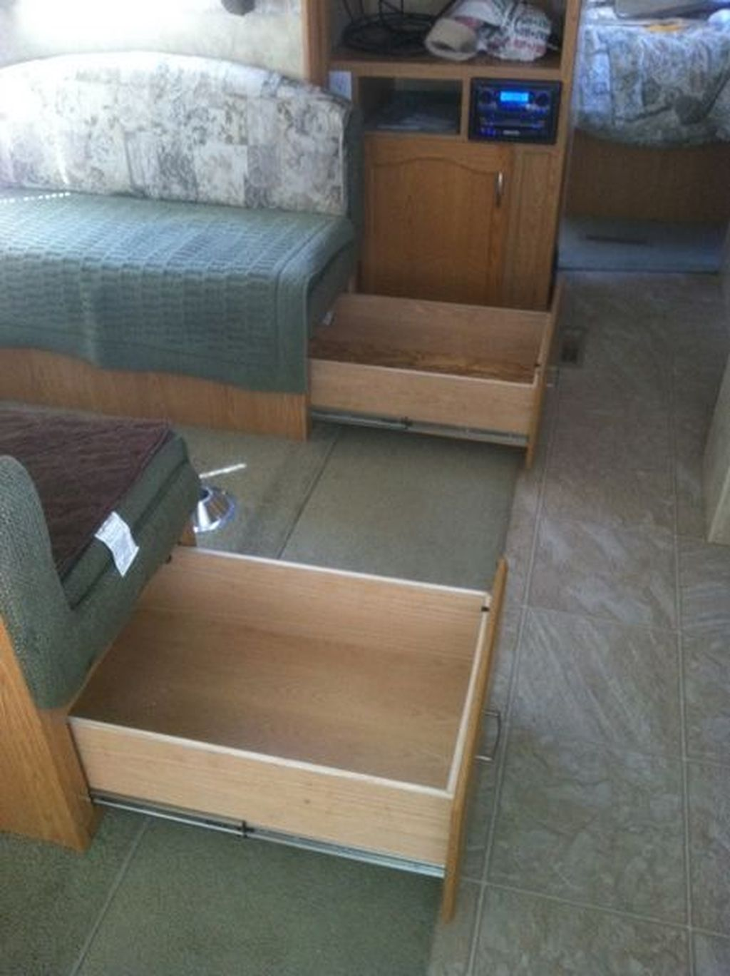 Inspiring RV Storage Ideas Travel Trailers 06