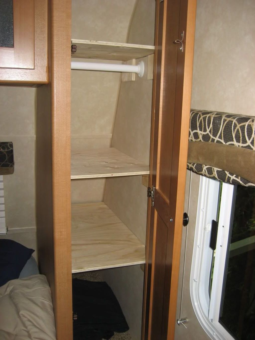 Inspiring RV Storage Ideas Travel Trailers 26