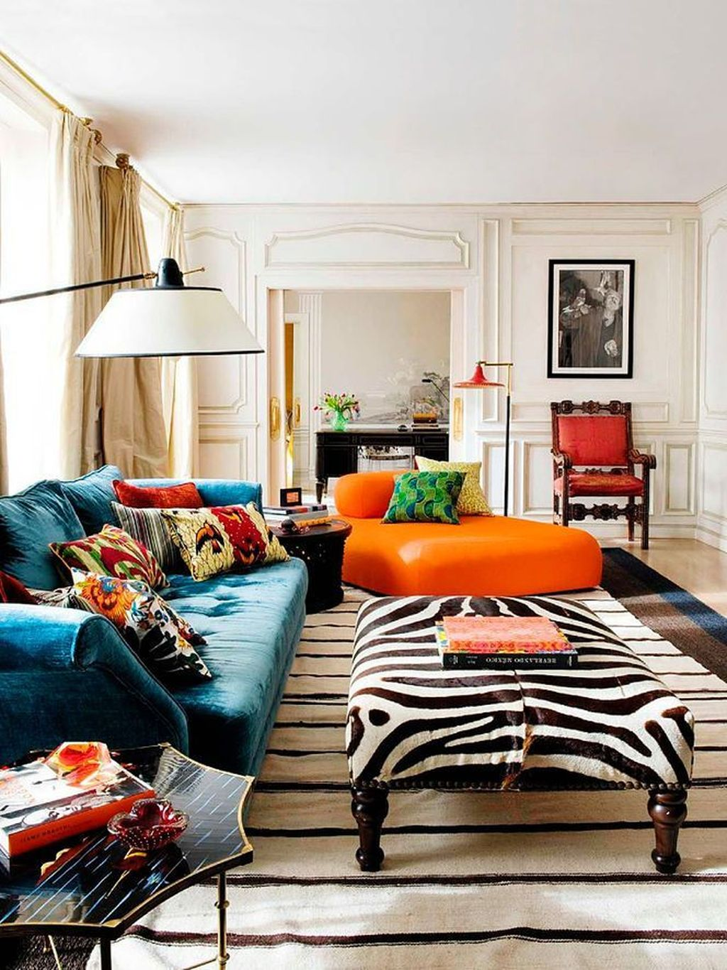 Lovely Colorful Living Room Ideas 20