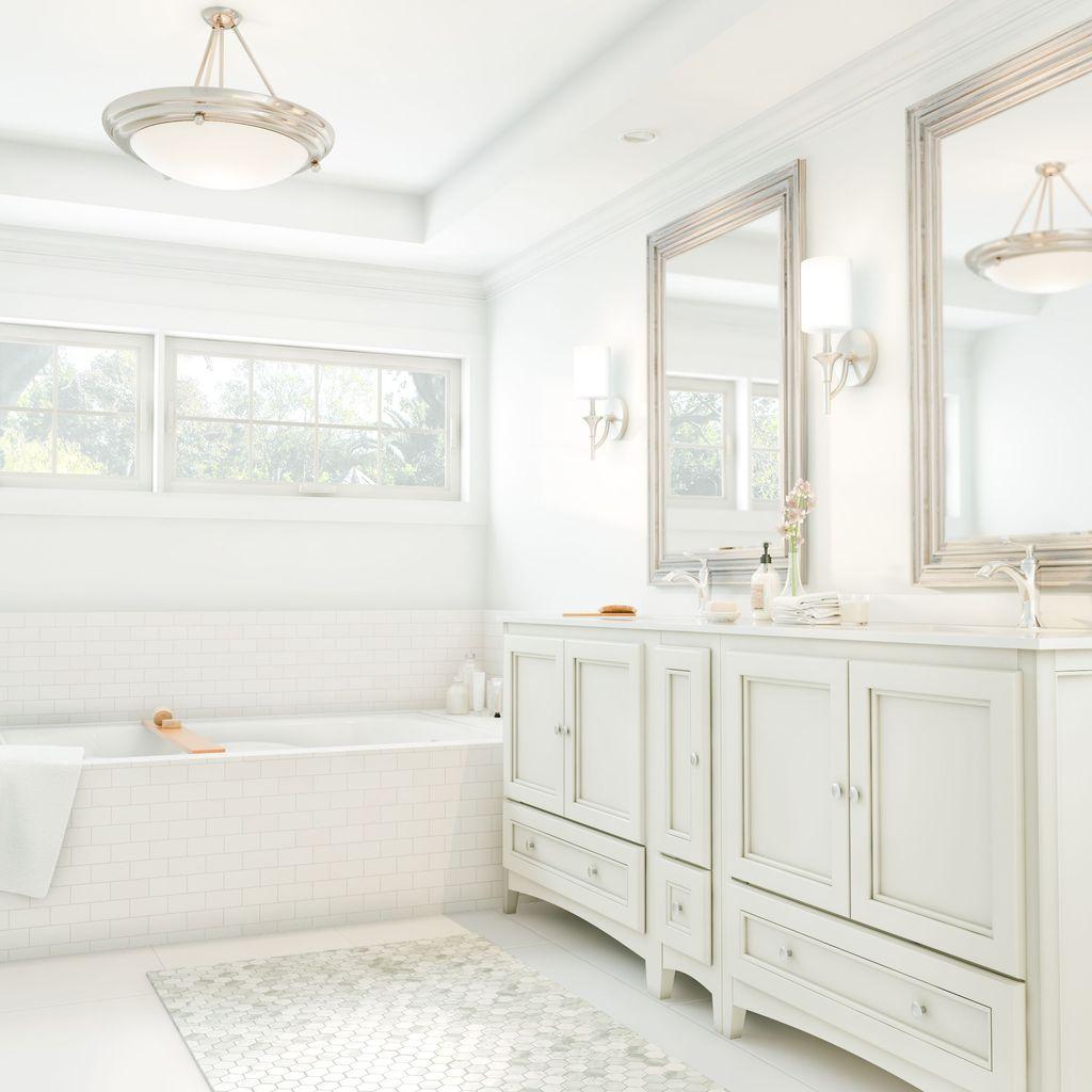 Lovely Relaxing Farmhouse Bathroom Decor Ideas 01