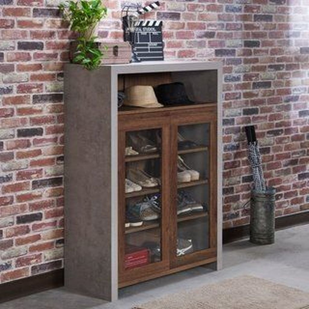 Nice Industrial Shoe Rack Design Ideas 03