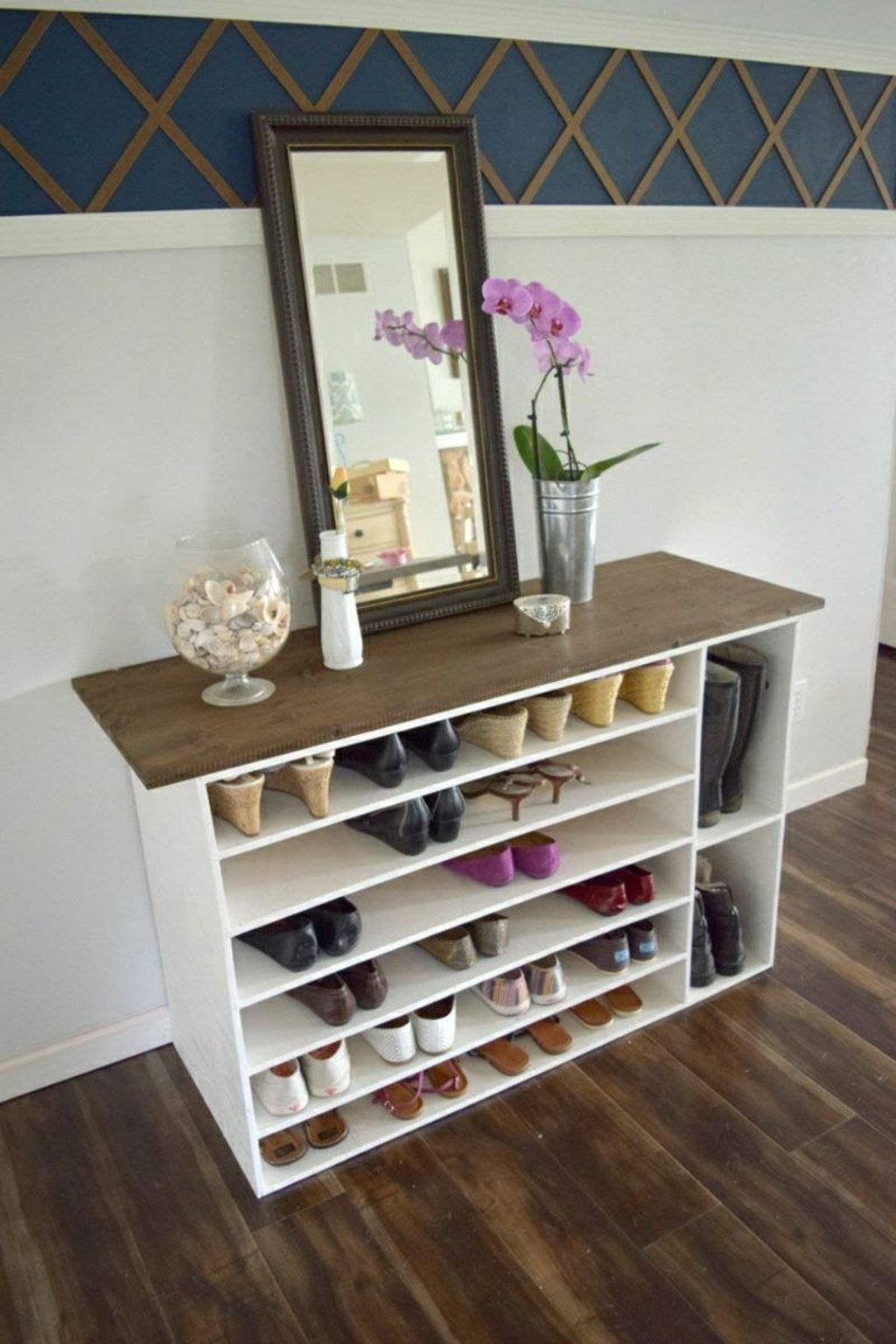 Nice Industrial Shoe Rack Design Ideas 08