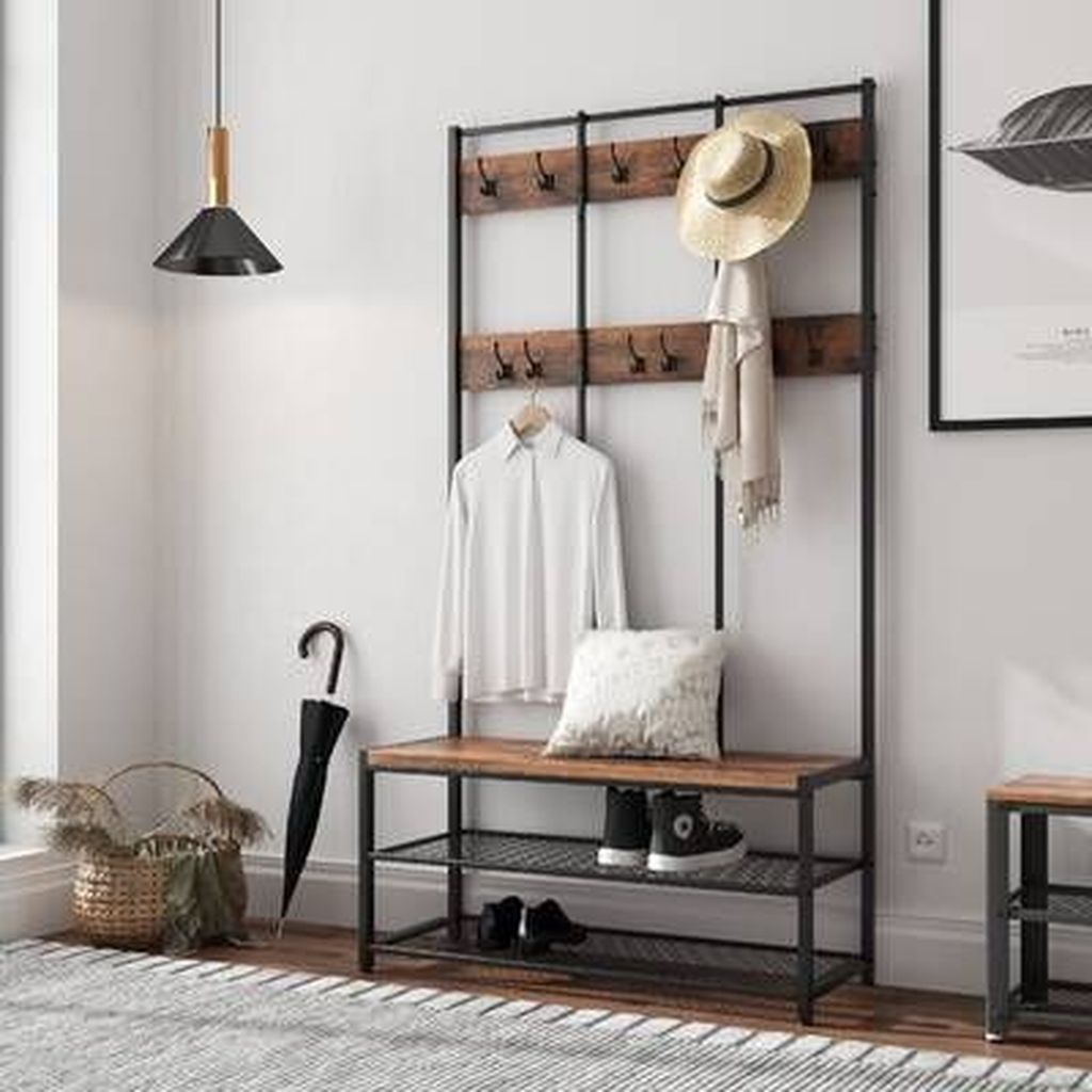 Nice Industrial Shoe Rack Design Ideas 23