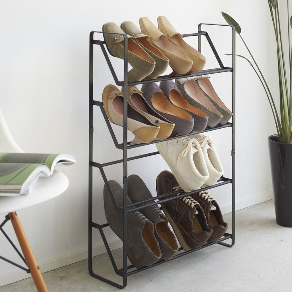 Nice Industrial Shoe Rack Design Ideas 24