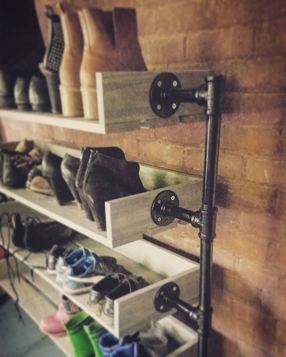 Nice Industrial Shoe Rack Design Ideas 25