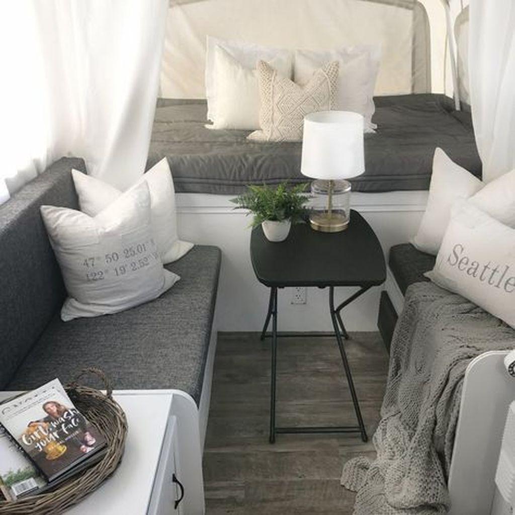 Nice RV Camper Remodel Ideas 20
