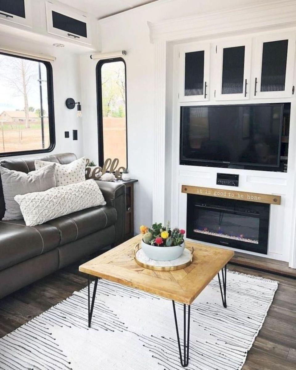 Nice RV Camper Remodel Ideas 23
