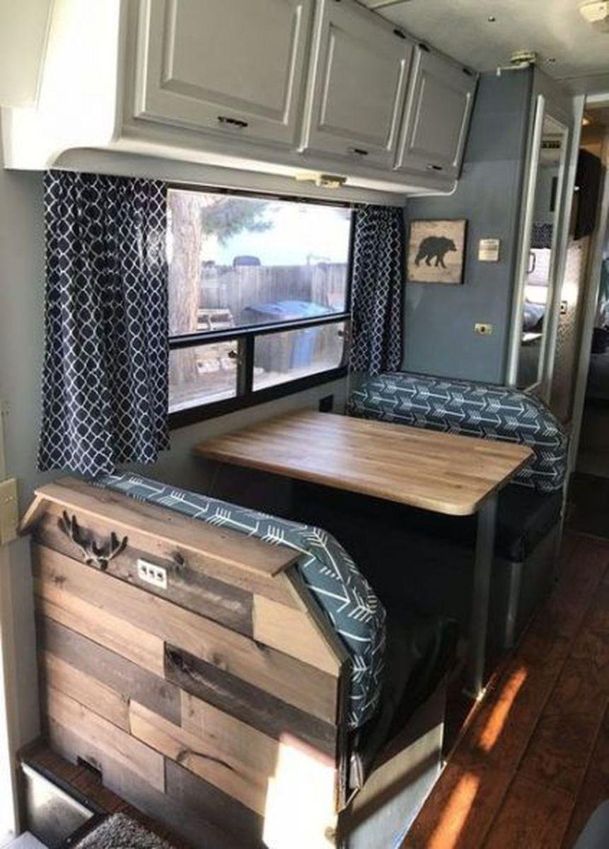Nice RV Camper Remodel Ideas 25