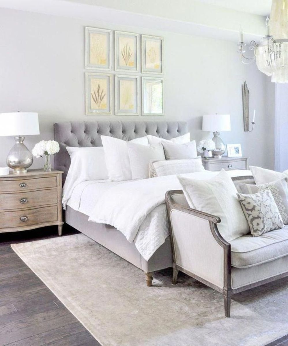 Popular White Master Bedroom Furniture Ideas 14