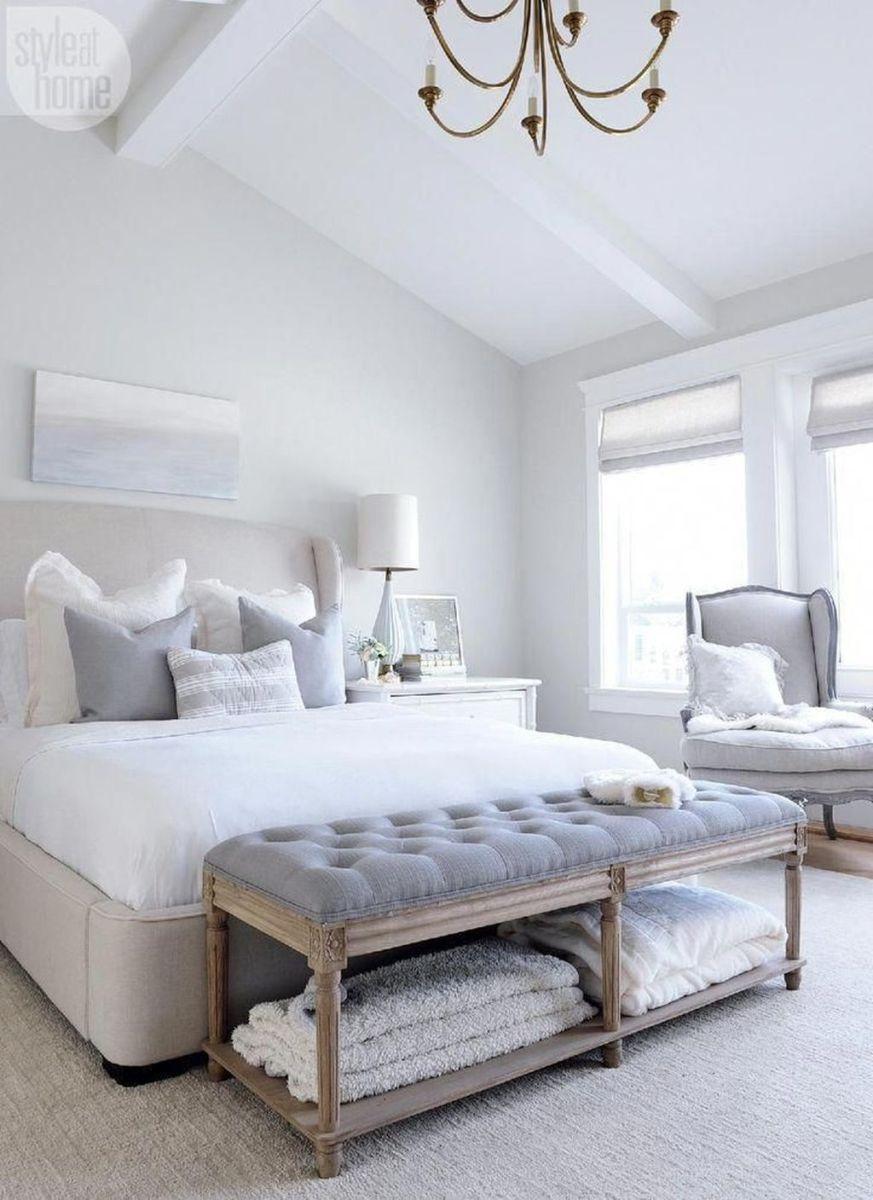 Popular White Master Bedroom Furniture Ideas 16