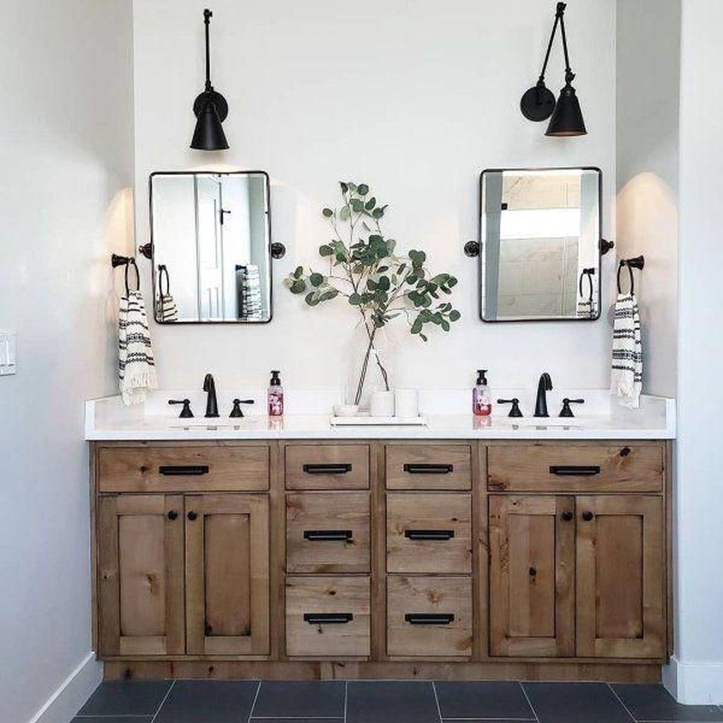 Stunning Bathroom Storage Design Ideas 05