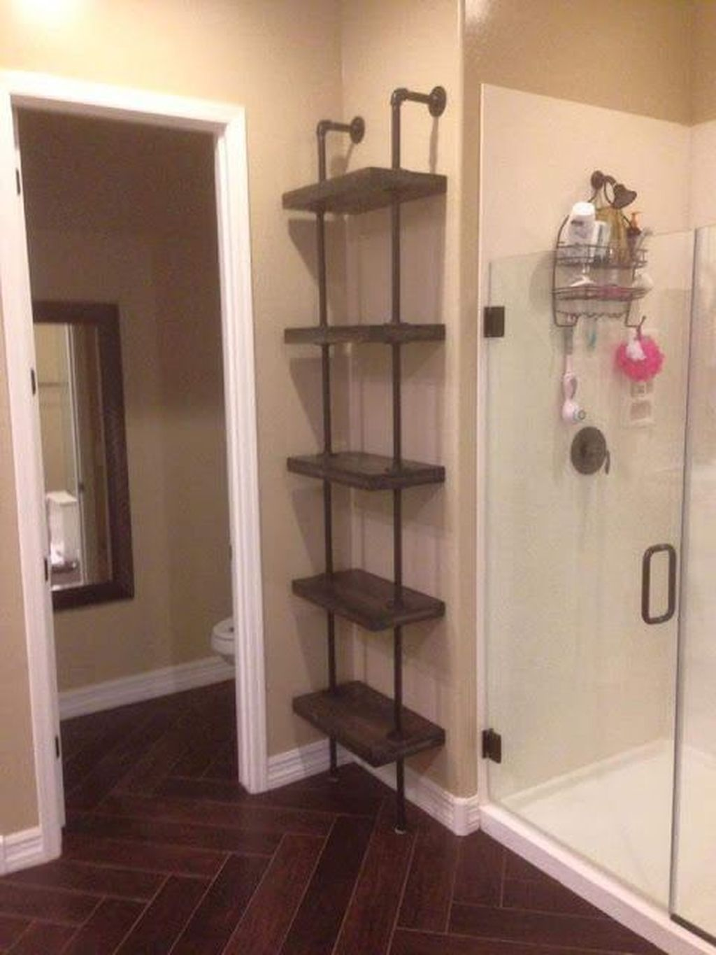 Stunning Bathroom Storage Design Ideas 12