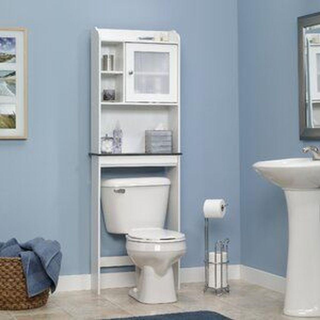 Stunning Bathroom Storage Design Ideas 24