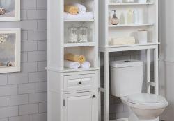 Stunning Bathroom Storage Design Ideas 29
