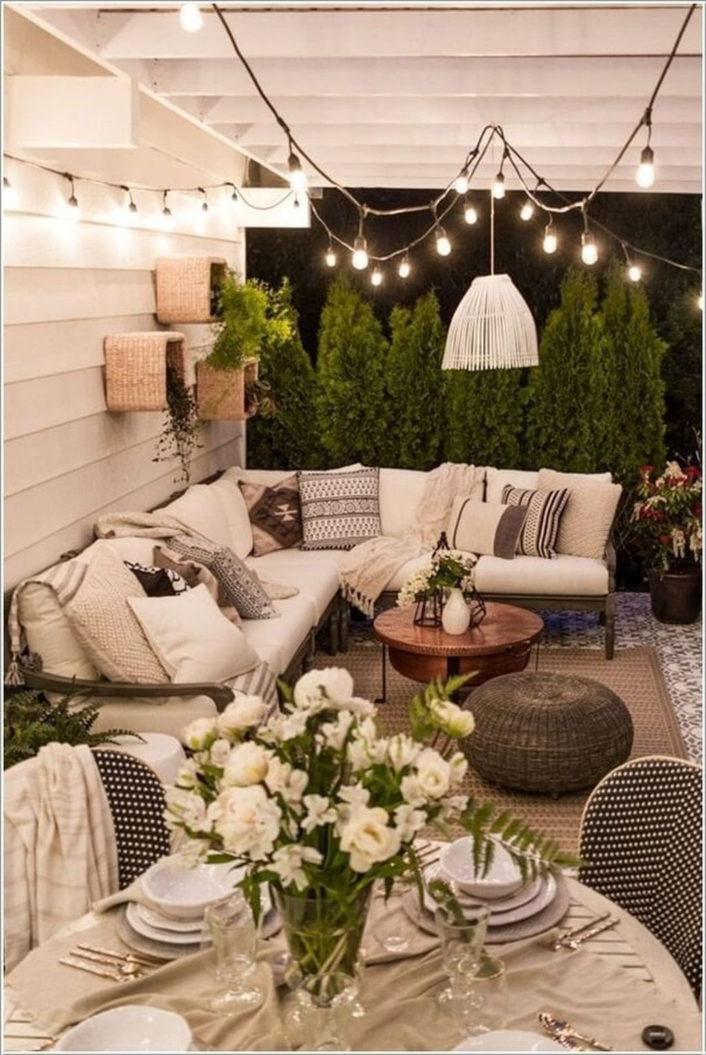 Stunning Rustic Patio Decorating Ideas 04