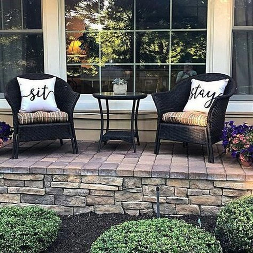 Stunning Rustic Patio Decorating Ideas 22