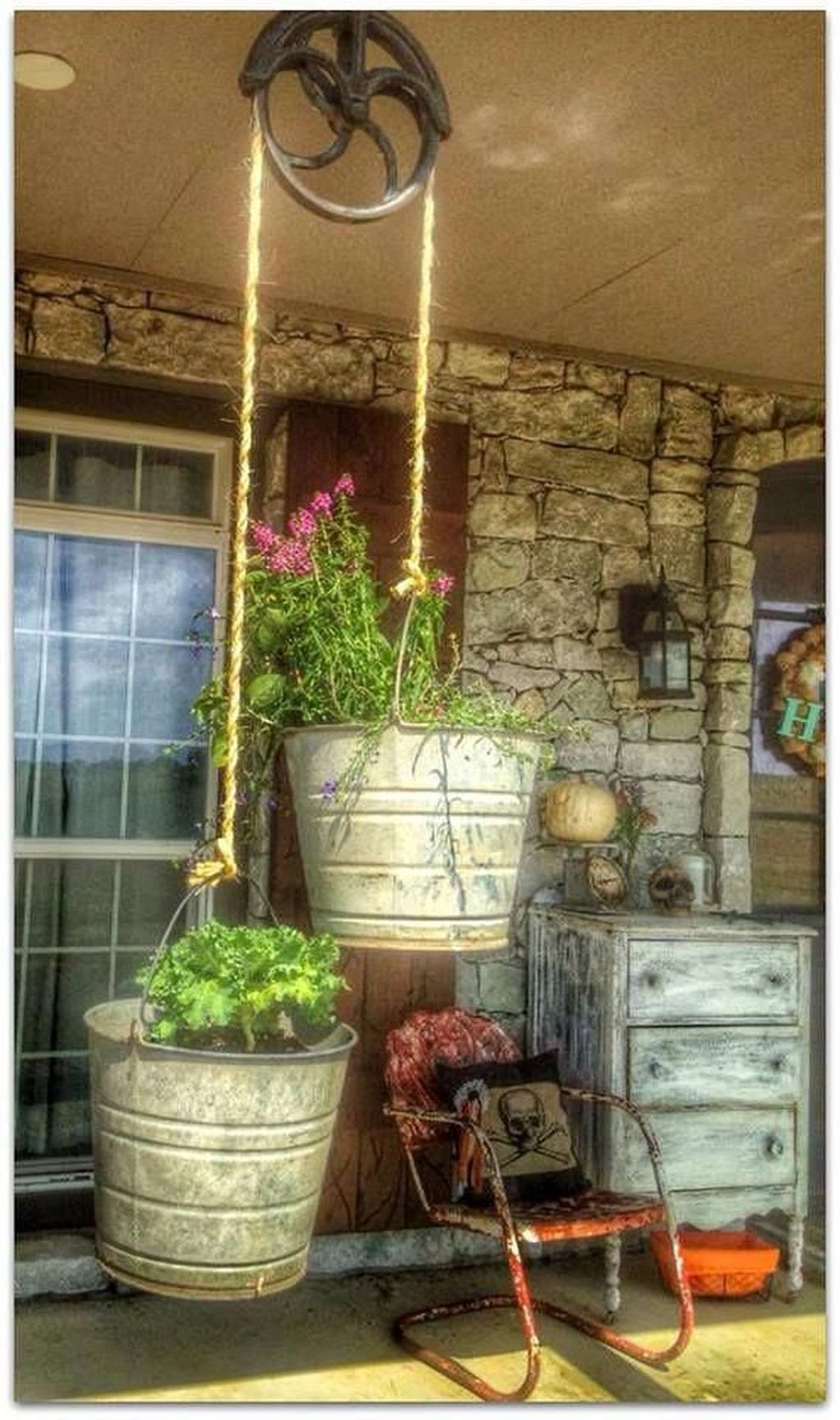 Stunning Rustic Patio Decorating Ideas 26