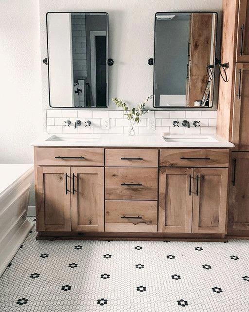 Admirable Rustic Modern Bathroom Design And Decor Ideas 07