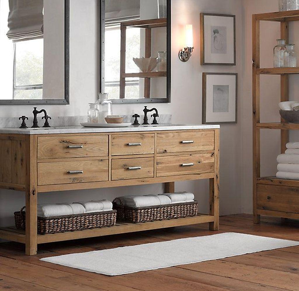 Admirable Rustic Modern Bathroom Design And Decor Ideas 12