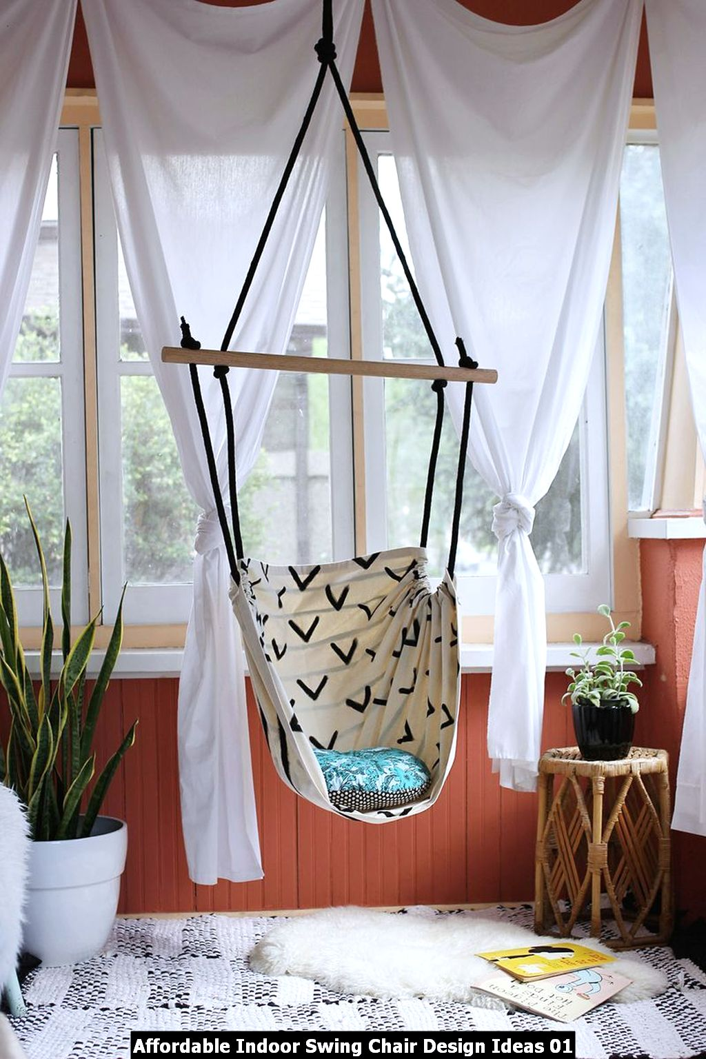 Affordable Indoor Swing Chair Design Ideas 01