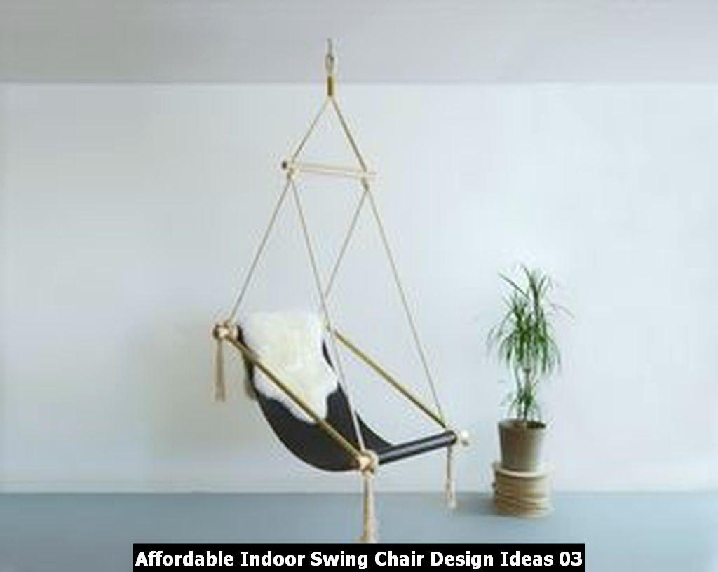 Affordable Indoor Swing Chair Design Ideas 03