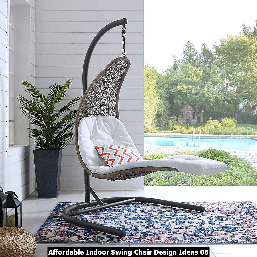 Affordable Indoor Swing Chair Design Ideas 05