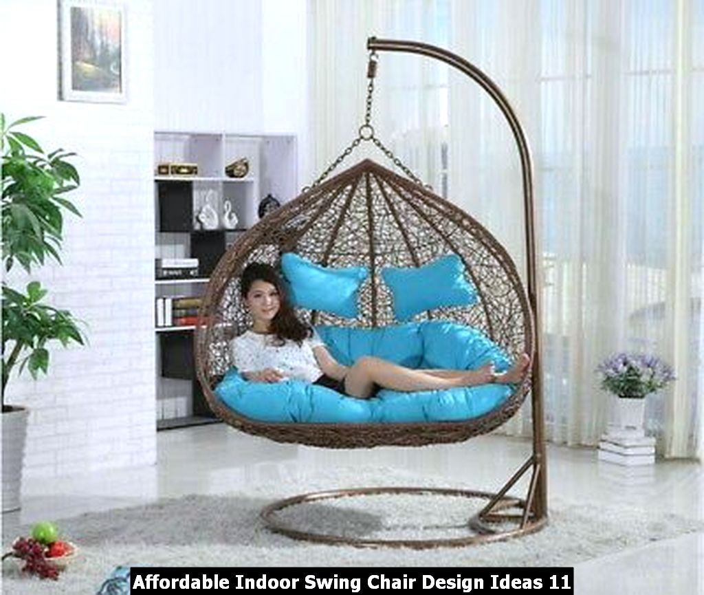 Affordable Indoor Swing Chair Design Ideas 11