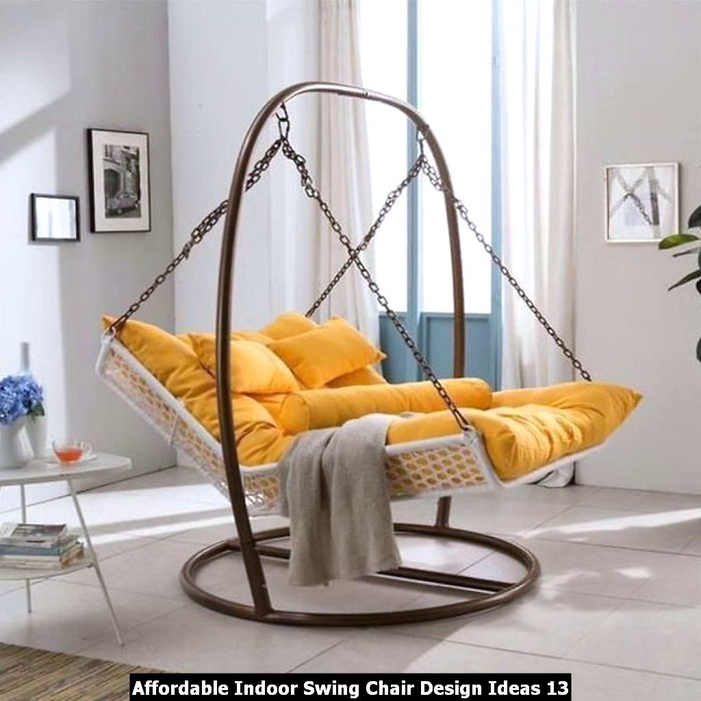 Affordable Indoor Swing Chair Design Ideas 13