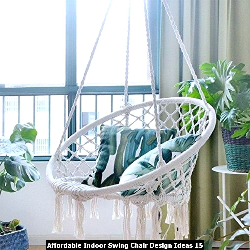 Affordable Indoor Swing Chair Design Ideas 15
