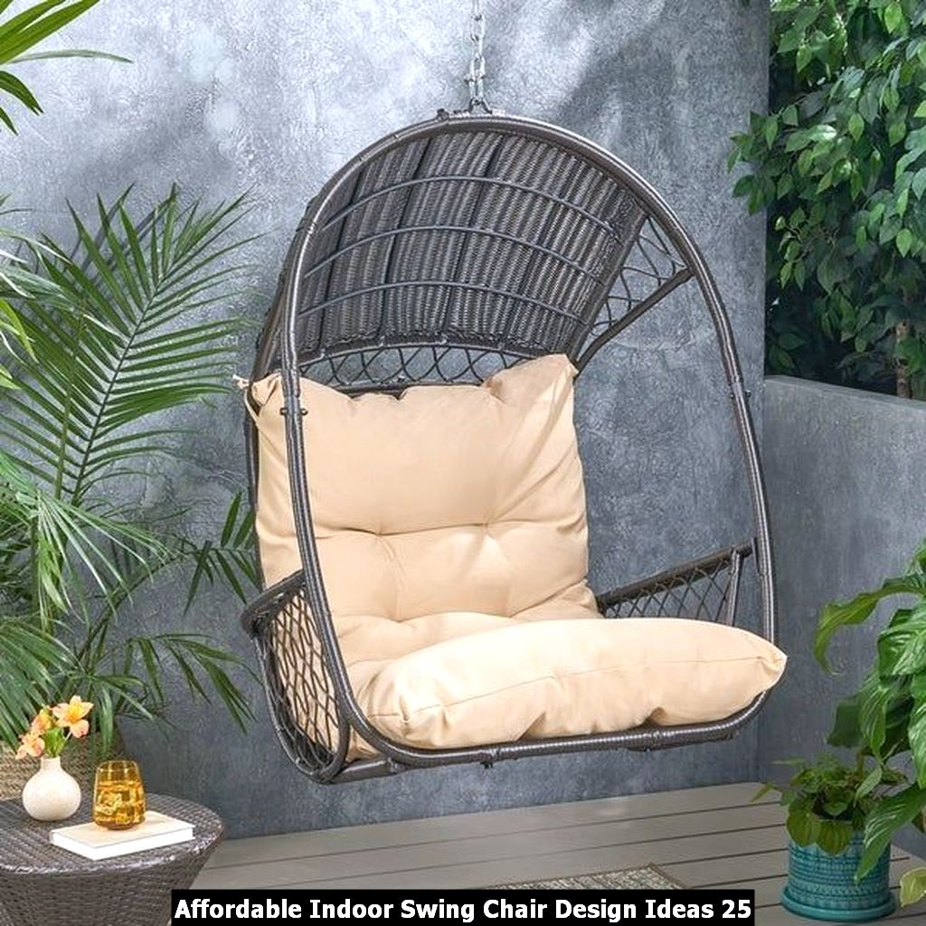 Affordable Indoor Swing Chair Design Ideas 25