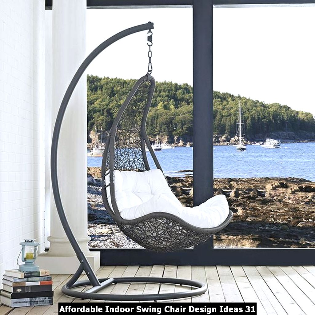 Affordable Indoor Swing Chair Design Ideas 31