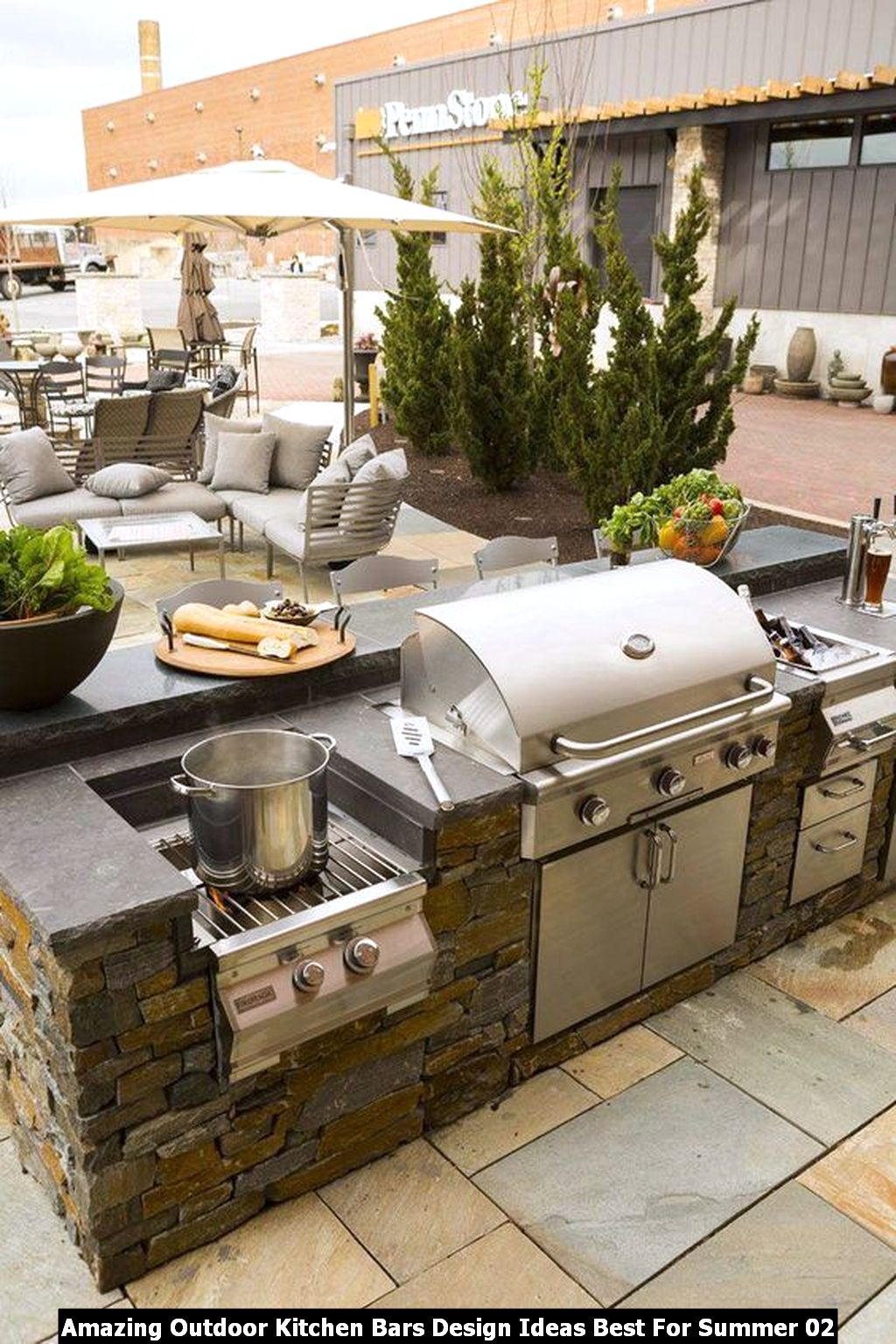 Amazing Outdoor Kitchen Bars Design Ideas Best For Summer 02