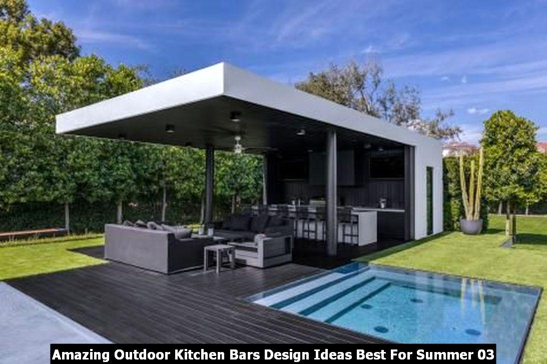 Amazing Outdoor Kitchen Bars Design Ideas Best For Summer 03