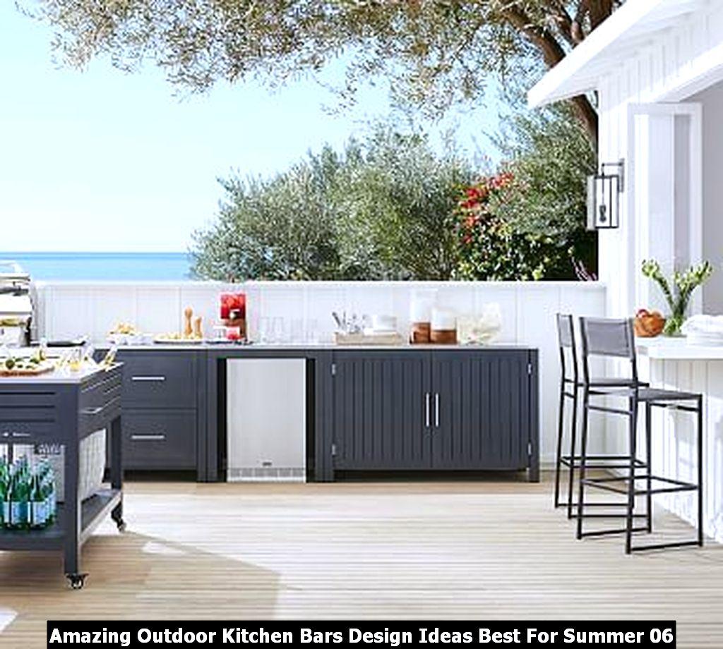 Amazing Outdoor Kitchen Bars Design Ideas Best For Summer 06