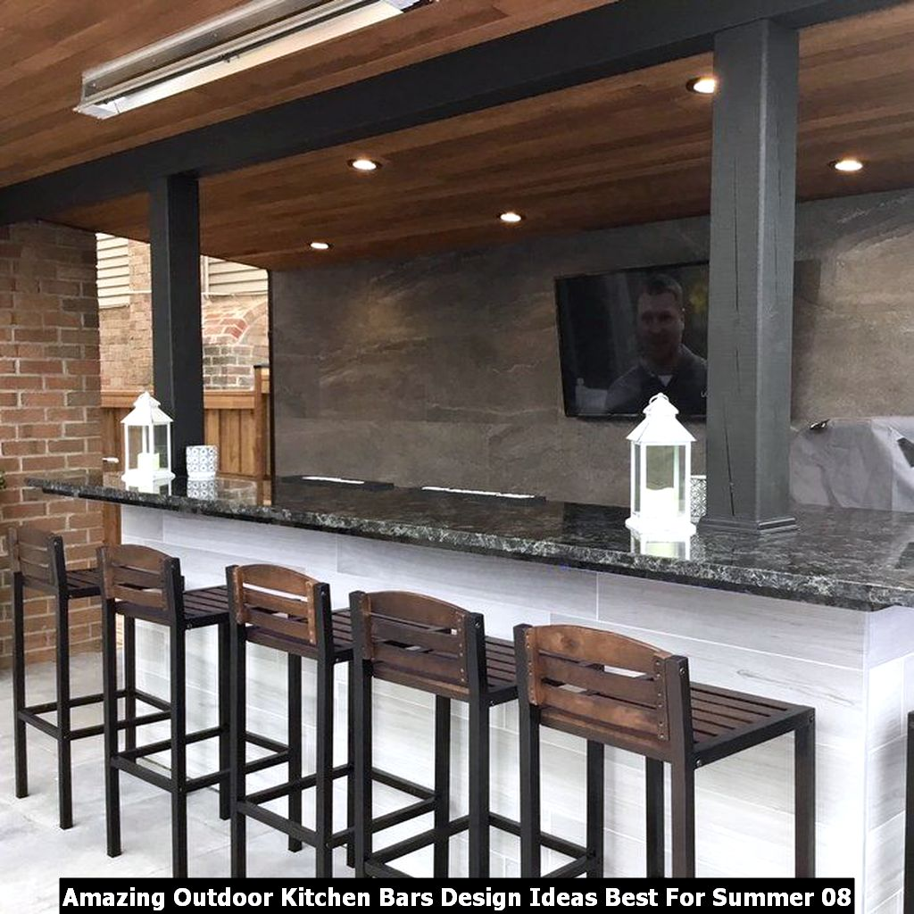 Amazing Outdoor Kitchen Bars Design Ideas Best For Summer 08