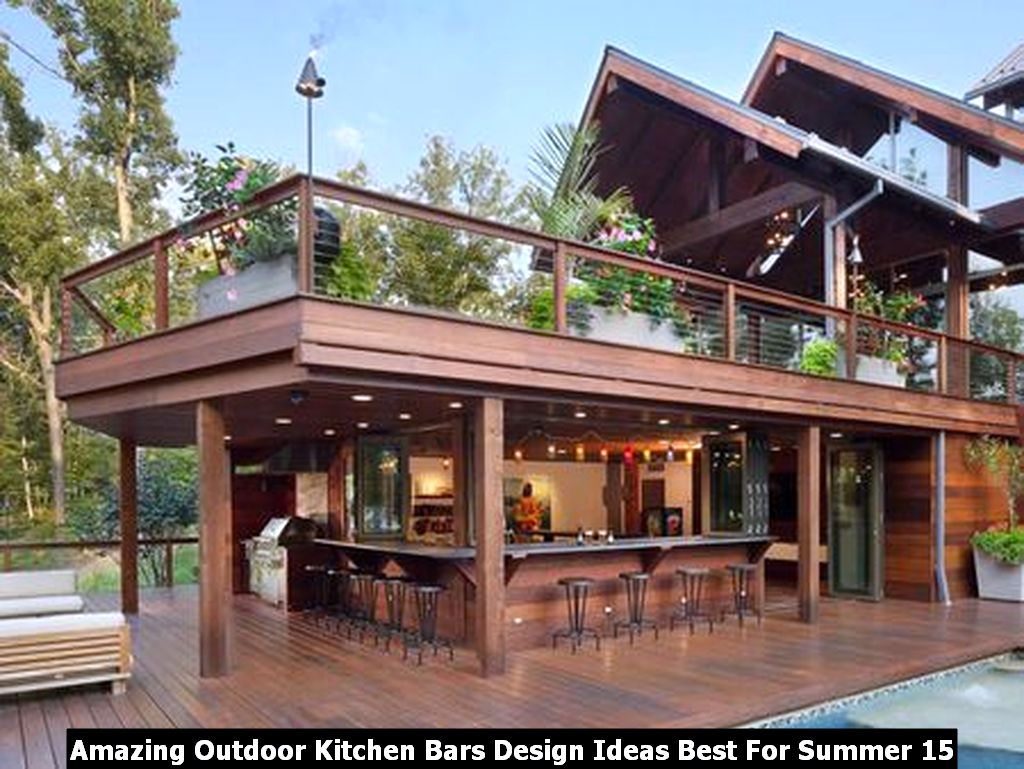 Amazing Outdoor Kitchen Bars Design Ideas Best For Summer 15