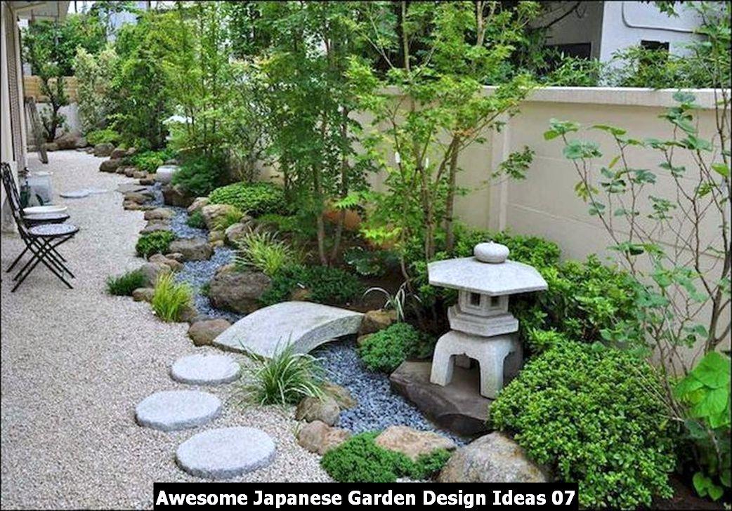 Awesome Japanese Garden Design Ideas 07
