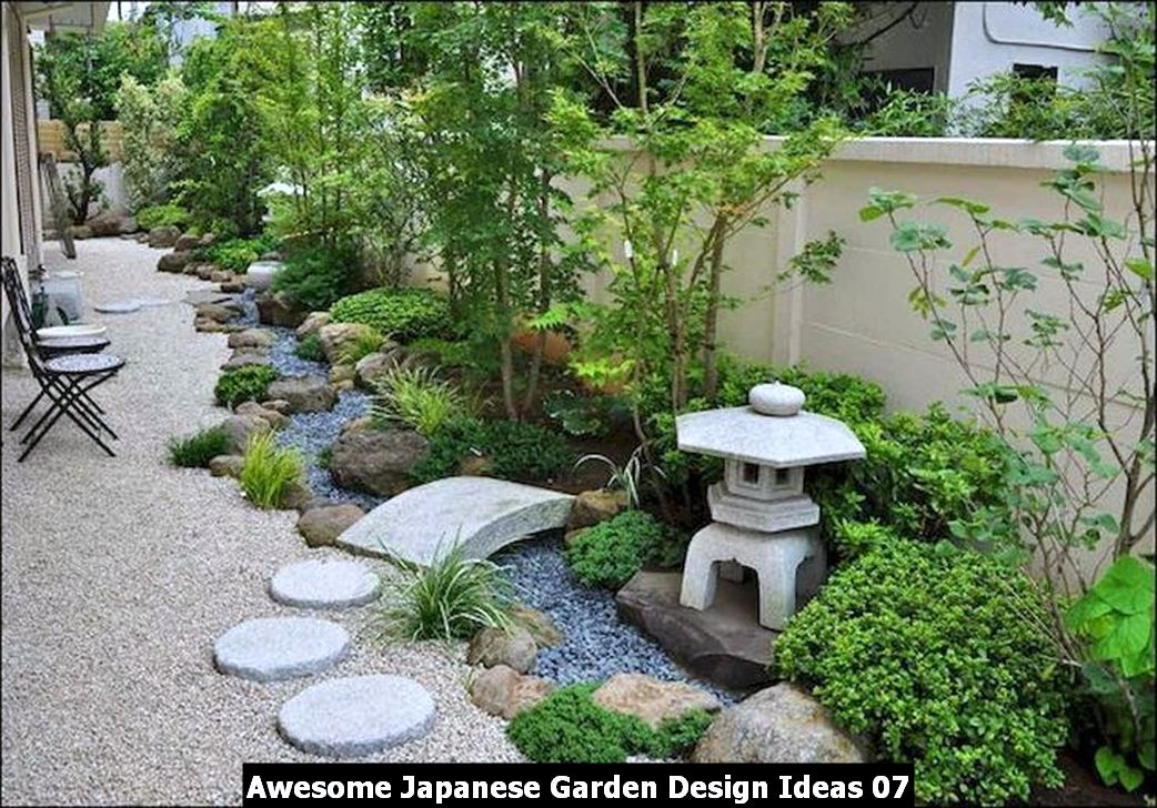 Awesome Japanese Garden Design Ideas 07