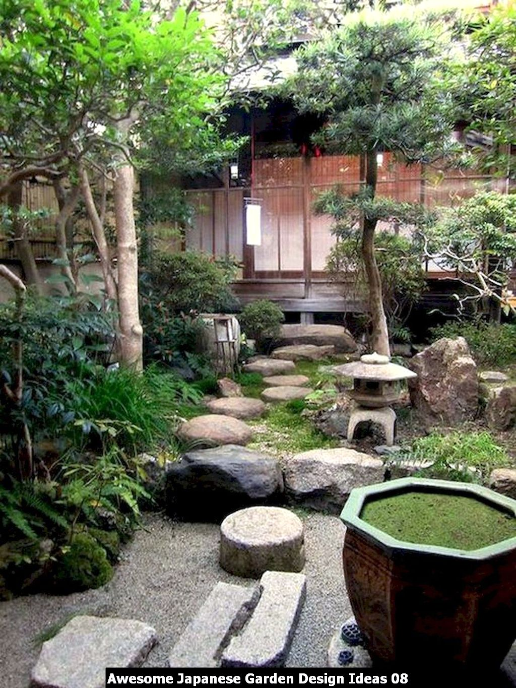 Awesome Japanese Garden Design Ideas 08
