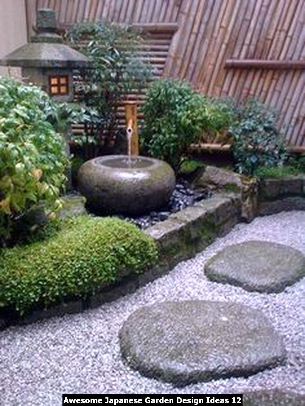 Awesome Japanese Garden Design Ideas 12